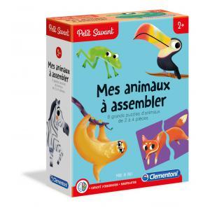 Clementoni - 52359 - Mes animaux à assembler - 2 ans et + (411020)