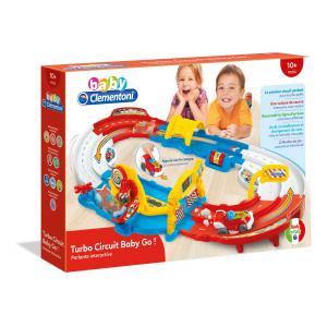 Clementoni - 52396 - Jouets Premier-Age Turbo Circuit Baby Go ! (411050)