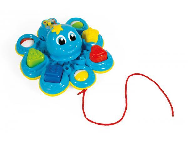 Jouets premier-age la pieuvre des formes bondissantes