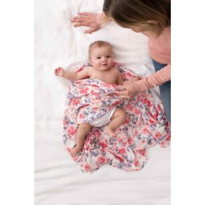 Aden and Anais - 9228G - silky soft maxi-langes watercolour garden (411548)