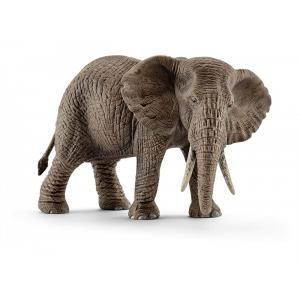 Schleich - bu034 - Figurines Animaux sauvages (Lionne, Panthère, Éléphant) (411948)