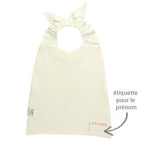 Little Crevette - FASE - bavoir élastiqué Happy Face (412308)