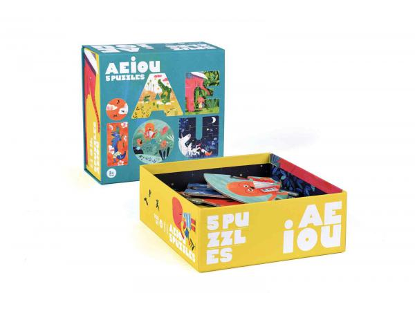 Aeiou - puzzle
