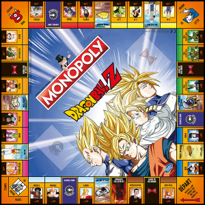 Winning moves - 0996 - MONOPOLY DRAGON BALL Z (412484)