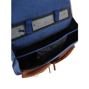 Caméléon - VIG-CA41-28P - Cartable 41 cm  3 compartiments - Modèle FLOWERS BLUE - Ligne Vintage print girl (412684)
