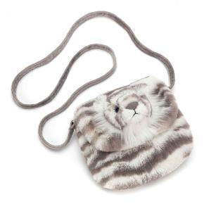 Jellycat - SAC4SB - Sacha Snow Tiger Shoulder Bag  - 18 cm (412836)