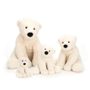 Jellycat - PE6P - Peluche Ours polaire Perry Petit - 13 cm (412938)