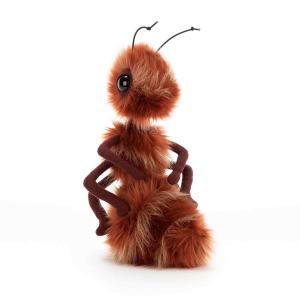 Jellycat - BB2RA - Peluche Fourmi Rouge Bodacious Insect - 27 cm (412956)