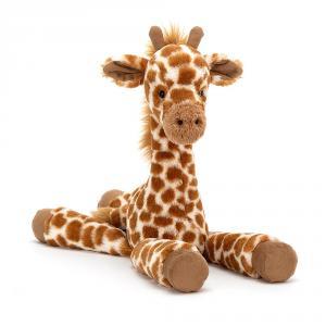 Jellycat - DIL6G - Peluche girafe Dillydally - L = 7 cm x l = 5 cm x H =29 cm (412978)