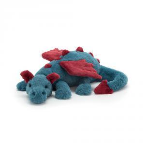 Jellycat - DEX1DDL - Peluche Dragon Dexter Grand Créature légendaire - 56 cm (413002)