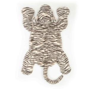 Jellycat - SAC1TM - Sacha Snow Tiger Playmat  - 85 cm (413018)