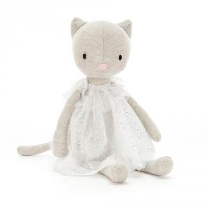 Jellycat - JOL2K - Peluche chat Jolie - L = 7 cm x l = 7 cm x H =30 cm (413036)