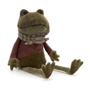 Jellycat - RIV3F - Riverside Rambler Frog - 33  cm (413054)