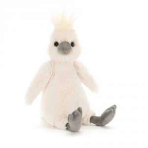 Jellycat - BAS3COC - Bashful Cockatoo Medium  - 31 cm (413096)