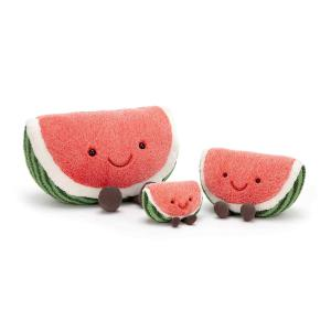 Jellycat - A6W - Amuseable Watermelon Small - 14  cm (413150)