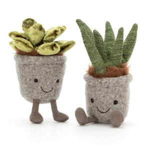Jellycat - SS6J - Silly Succulent Jade - 16  cm (413154)