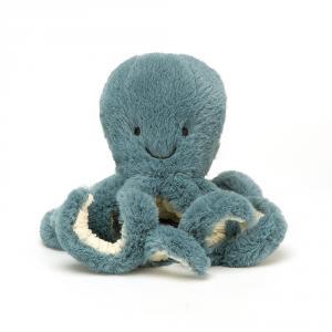 Jellycat - STB4OC - Peluche bébé poulpe tempête   - 14 cm (413204)