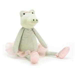 Jellycat - DD6A - Dancing Darcey Alligator  - 33 cm (413206)