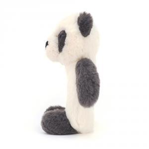 Jellycat - HA4PG - Hochet Panda Fouillis -13 cm (413308)
