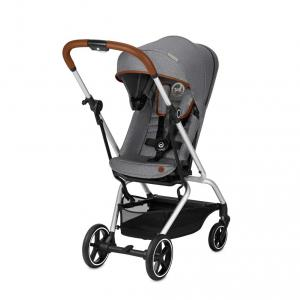 Cybex - 519003401 - Poussette EEZY S TWIST+ DENIM Manhattan Grey-gris (413388)