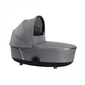 Cybex - 519004183 - Nacelle MIOS Plus Manhattan Grey-gris (413408)