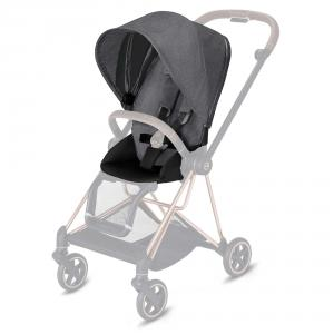 Cybex - 519004147 - Habillage de siège Mios Plus Manhattan Grey-gris (413414)