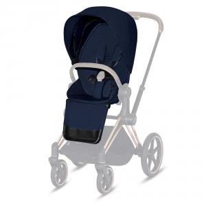 Cybex - 519004087 - Habillage de siège Priam Plus Midnight Blue-marine (413424)