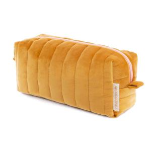 Nobodinoz - N112053 - Trousse de toilette  Savanna velours Farniente yellow (413442)
