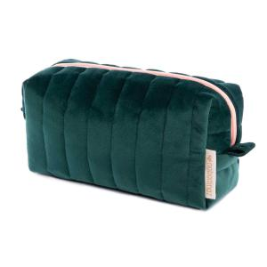 Nobodinoz - N112084 - Trousse de toilette  Savanna velours Jungle green (413446)