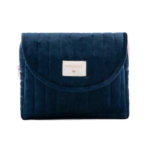 Nobodinoz - N111940 - Trousse de toilette  Savanna velours Night blue (413458)