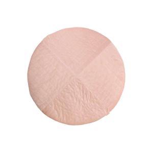 Nobodinoz - N112794 - Tapis rond Kilimanjaro Bloom pink (413470)