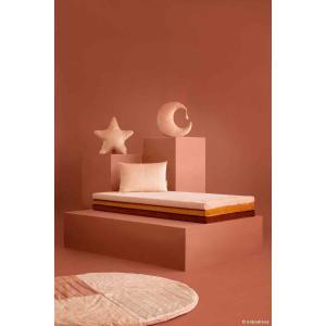 Nobodinoz - N112534 - Matelas de sol Zanzibar Bloom pink (413480)