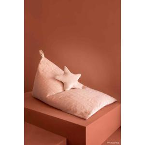 Nobodinoz - N112473 - Pouf haricot Essaouira BLOOM PINK (413490)