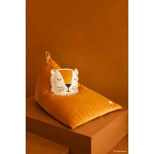 Nobodinoz - N112466 - Pouf haricot Essaouira Farniente yellow (413492)