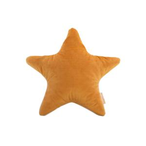 Nobodinoz - N112640 - Coussin Aristote étoile FARNIENTE YELLOW (413522)