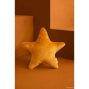 Nobodinoz - N112640 - Coussin étoile Aristote Farniente yellow (413522)