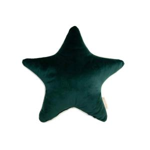 Nobodinoz - N112671 - Coussin Aristote étoile JUNGLE GREEN (413526)