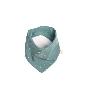 Nobodinoz - N111209 - Bandana Lucky Gold confetti magic green (413556)