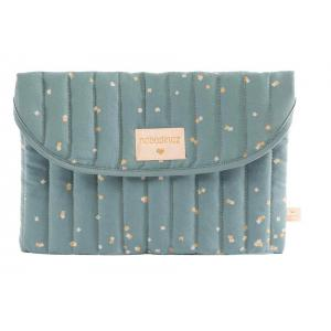Nobodinoz - N111261 - Pochette Bagatelle Gold confetti magic green (413572)