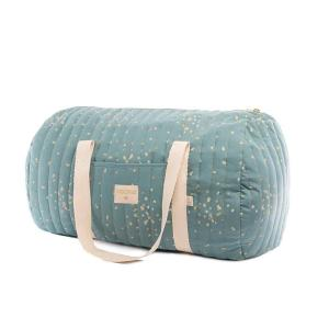 Nobodinoz - N111315 - Sac weekend New York Gold confetti magic green (413580)