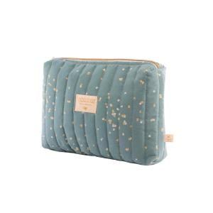 Nobodinoz - N111254 - Trousse de toilette Travel Gold confetti magic green (413586)