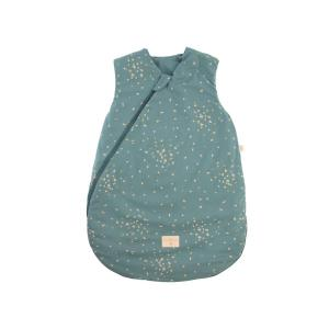 Nobodinoz - N111506 - Gigoteuse Cocoon  naissance Gold confetti magic green (413594)
