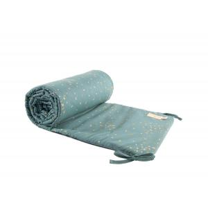 Nobodinoz - N111223 - Tour de lit Nest Gold confetti magic green (413600)