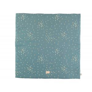 Nobodinoz - N111421 - Tapis de jeu Colorado Gold confetti magic green (413622)