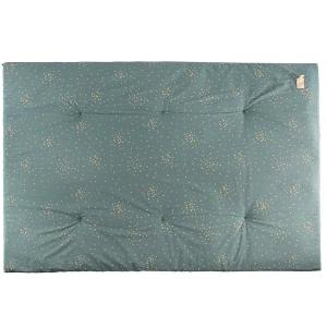 Nobodinoz - N111438 - Futon Eden Gold confetti magic green (413624)