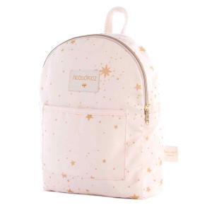Nobodinoz - N110998 - Petit sac à dos Too Cool Gold stella/ dream pink (413648)