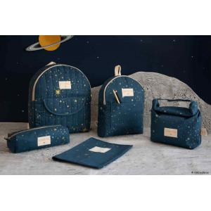 Nobodinoz - N111001 - Petit sac à dos Too Cool Gold stella/ night blue (413650)