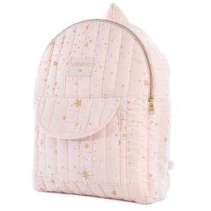 Nobodinoz - N110974 - Sac à dos enfant Too Cool Gold stella/ dream pink (413652)