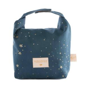 Nobodinoz - N111025 - Sac goûter éco Too cool Gold stella/ night blue (413658)