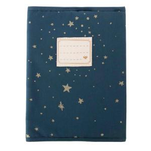 Nobodinoz - N111049 - Protège-cahier de textes Too Cool Gold stella/ night blue (413662)